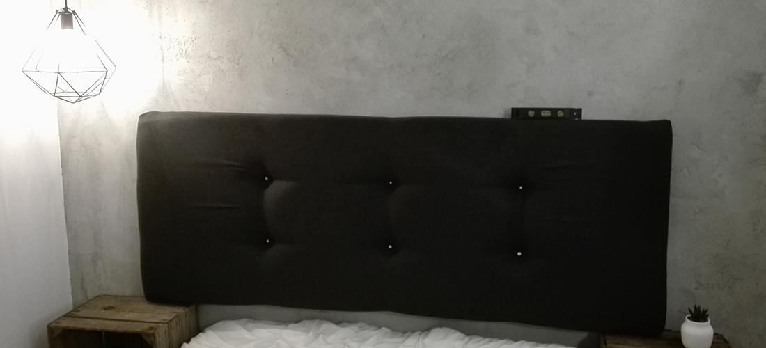 lav din egen sengegavl Sengegavl DIY   Se her hvordan du kan lave din egen sengegavl! lav din egen sengegavl